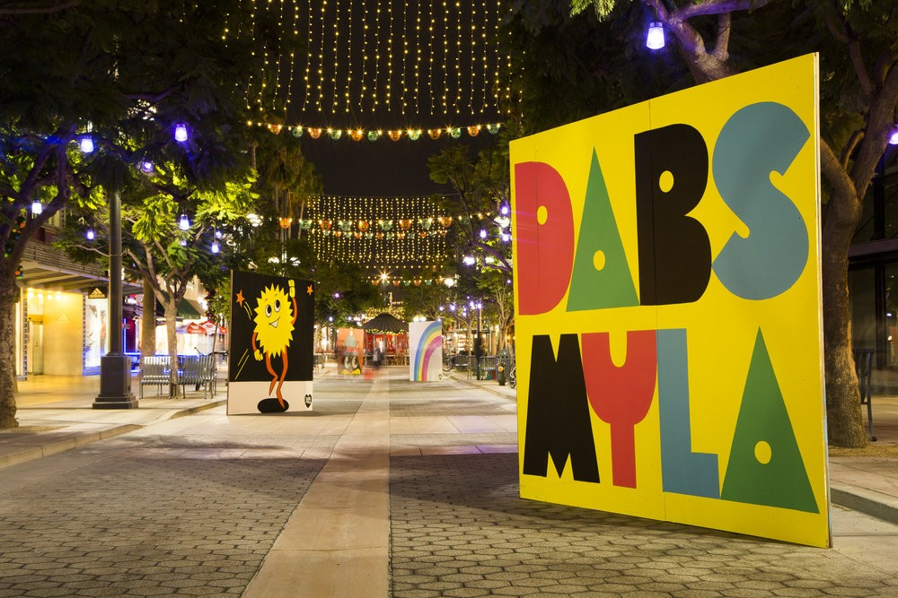 Streets Art : Dabs Myla in Los Angeles