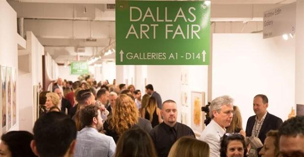 Dallas Art Fair Opens Tenth Anniversary Edition at the Fashion Industry Gallery