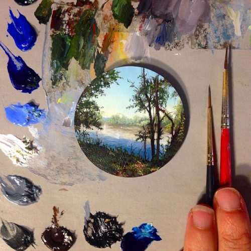 Miniature Worlds In The Charming Works Of Dina Brodsky