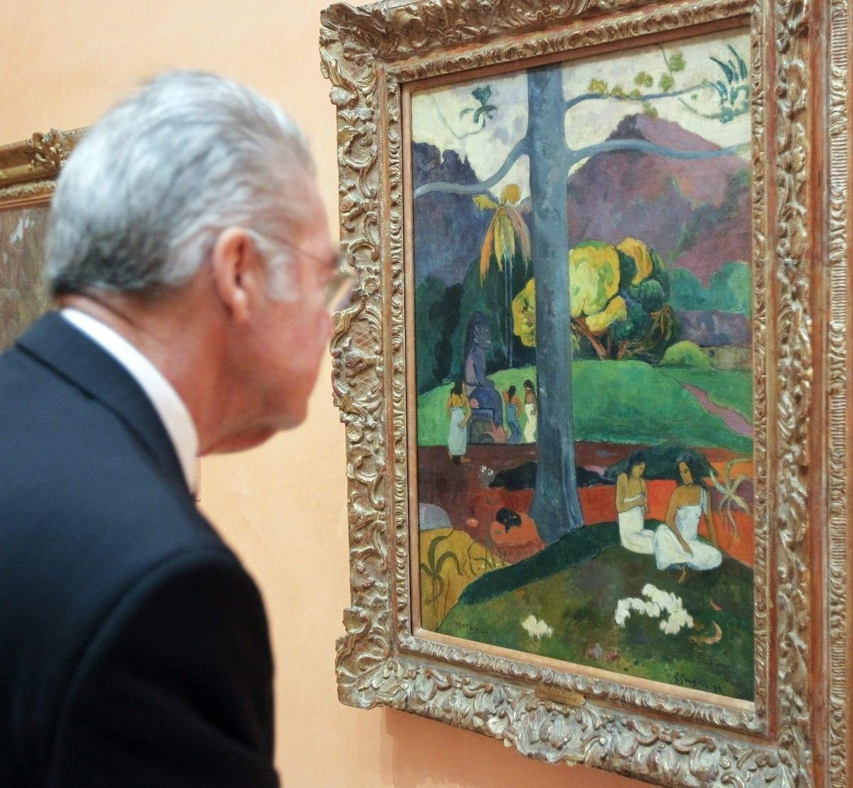 Gauguin's painting will be sold from a museum in Madrid