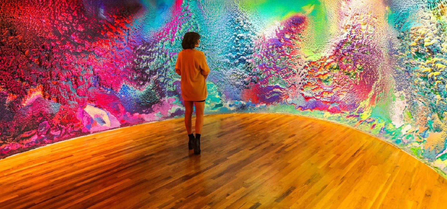 Rugged Multi-Color Paintings by Dylan Gebbia-Richards Mirror the Textures of Molten Rock