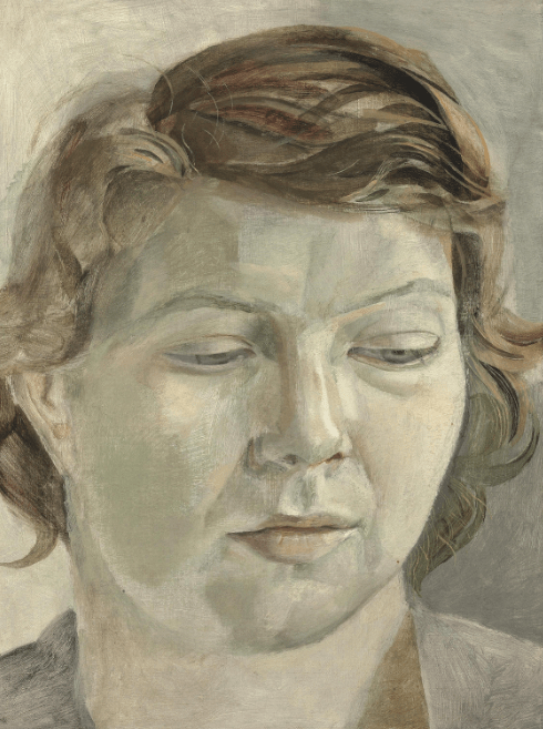 Two Early Portraits by Freud Acquired for the Nation and Allocated to Abbot Hall, Kendal