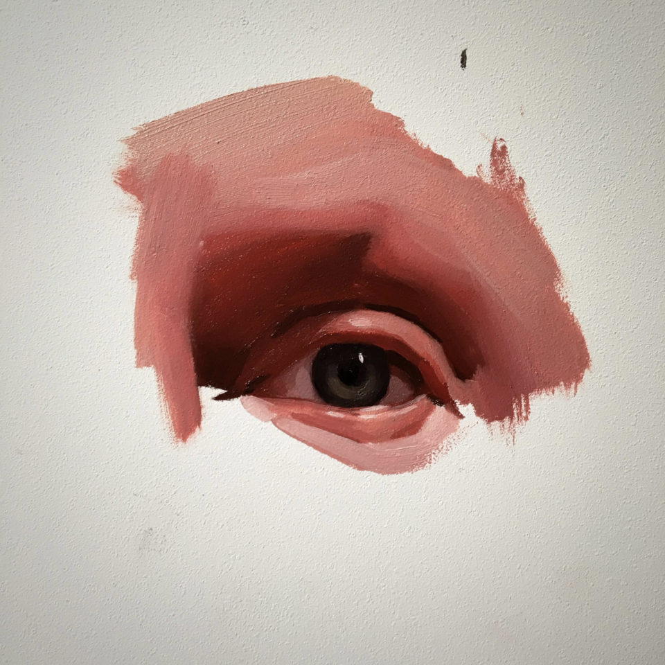 Lifelike Eyes Clustered Together in Striking Abstract Portraits by Emilio Villalba