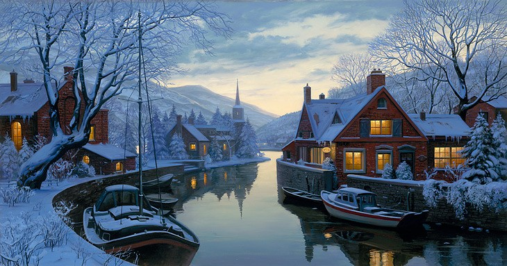 In the Realm of Twilight – Evgeny Lushpin   USA Art News