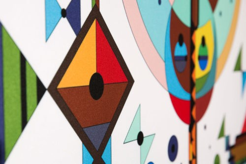 Kota Collections: Printed Art Panels with a Colorful, Positive Message