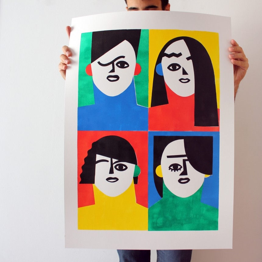 Colourful, evocative and ever-evolving: the intuitive illustrations of José Roda