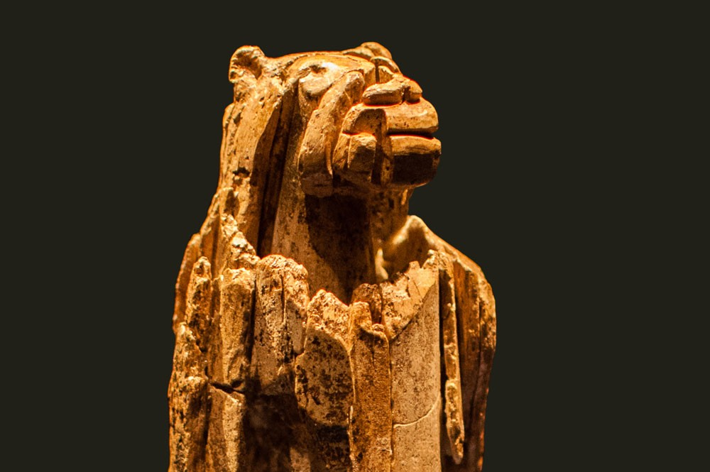 The Earliest Surviving Figurative Sculpture Carved From The Mammoth Tusk