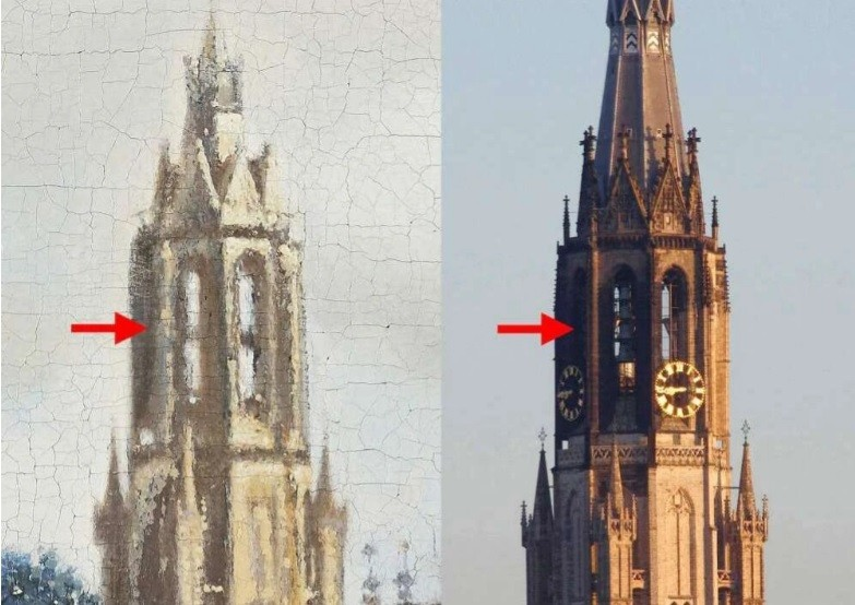 """Astronomers determined the time of creation Vermeer's """"View of the Delft"""""""