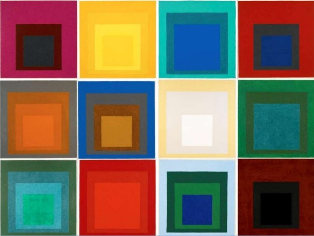 Customizable T-Shirts with Josef Albers's Squares