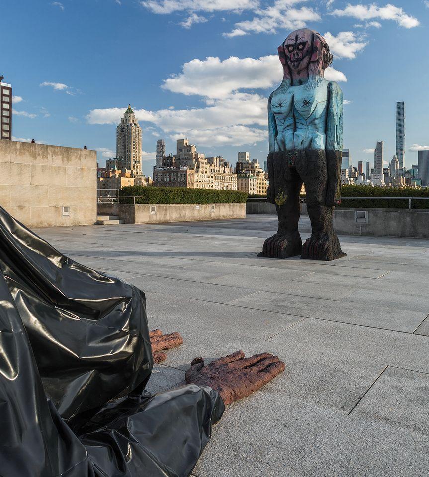 Huma Bhabha's Alien Visitors Land on the Met's Roof