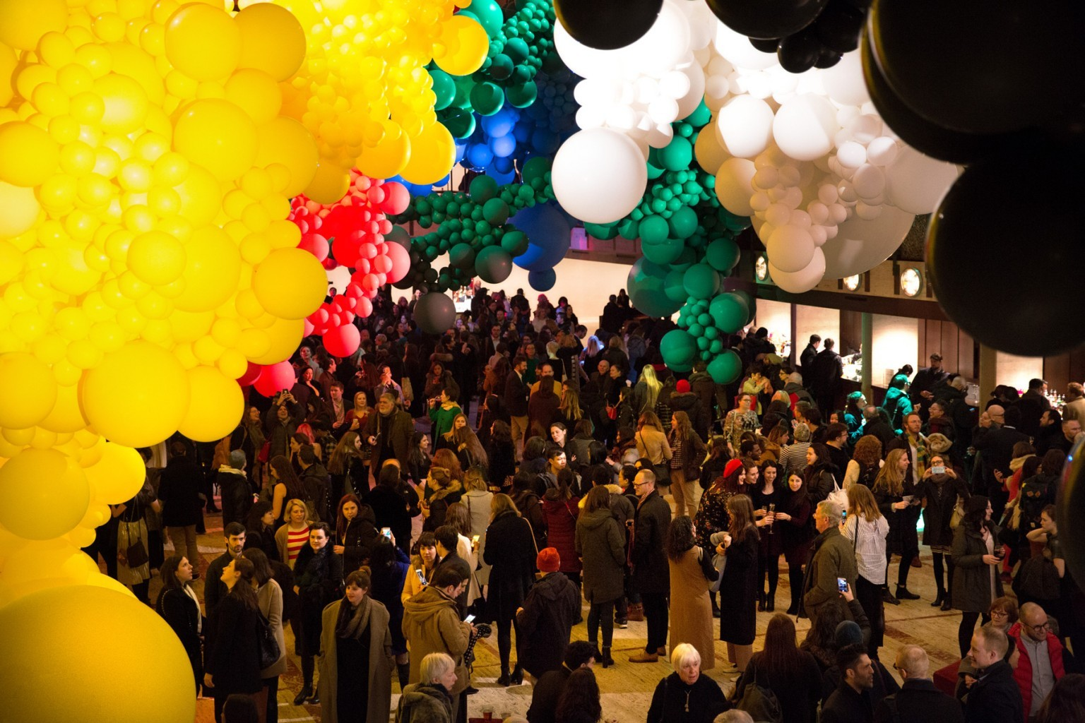 Geronimo Fills Lincoln Center with a Massive Balloon Installation for the New York City Ballet