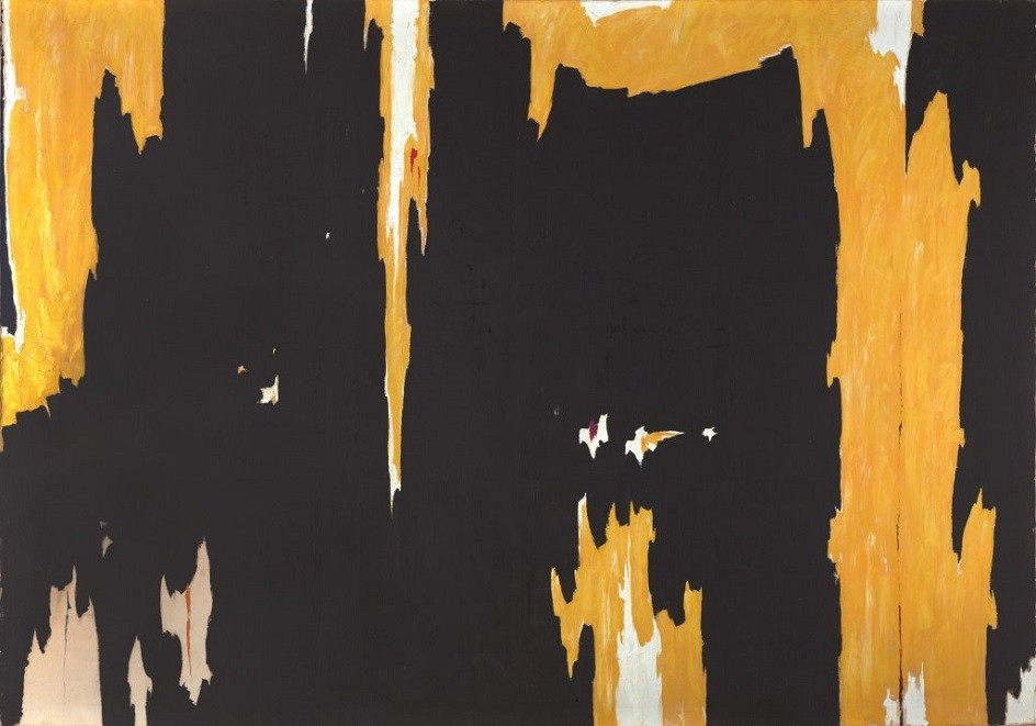 """Clifford Steele. Painting """"Number 1"""", 1957"""