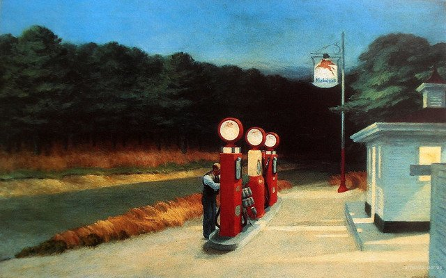 Edward Hopper's art were brought to life by director Wim Wenders
