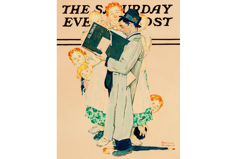 Heritage Auctions' American Art Auction to offer 10 works by Norman Rockwell