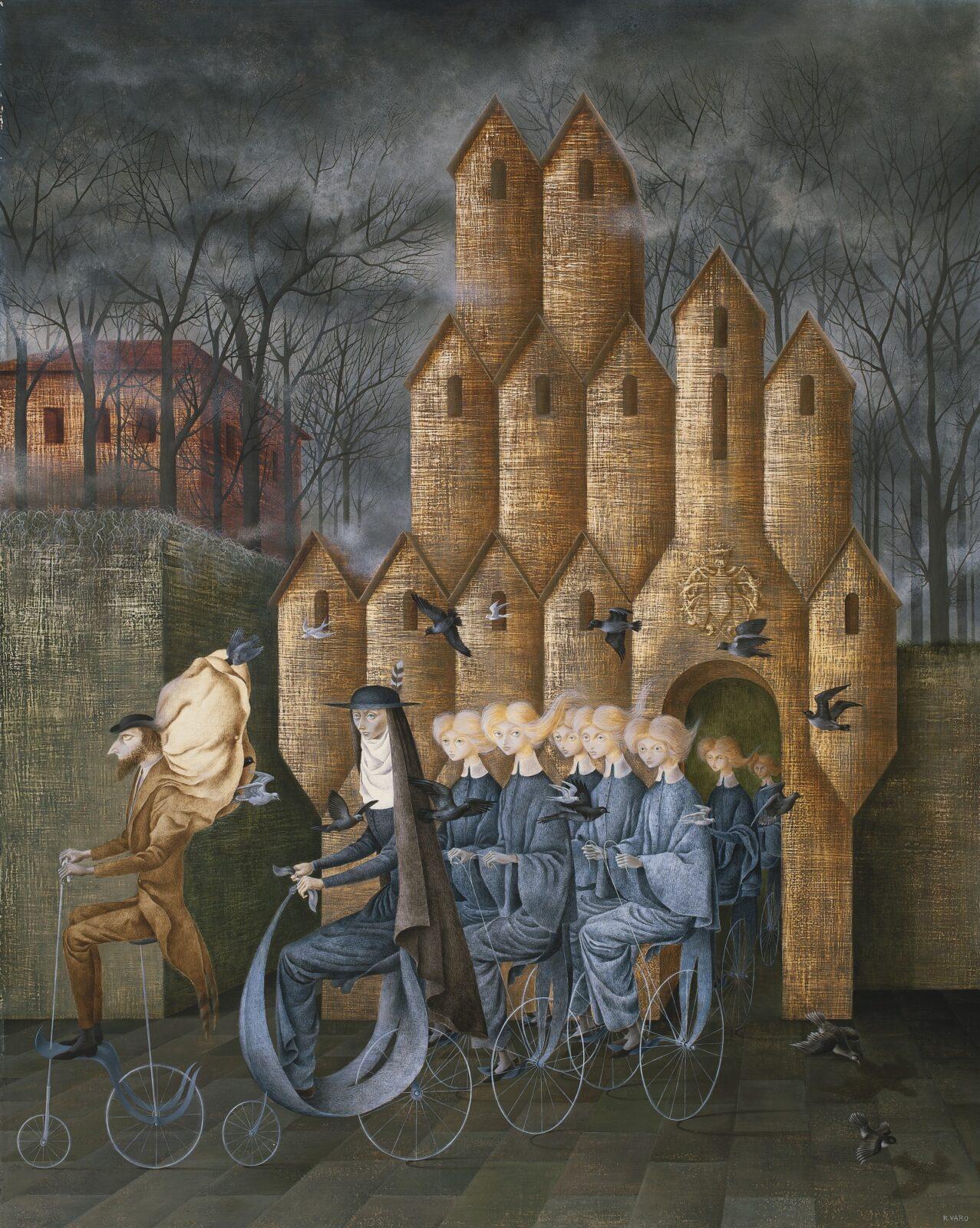 The mystical scene by Spanish surrealist Remedios Varo set a world record