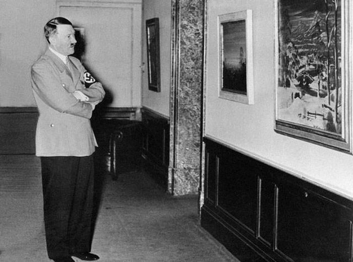 Dutch Experts Doubt Authenticity Of Rare Adolf Hitler Watercolour Painting