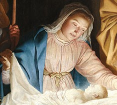 "Wallraf-Richartz-Museum Restores Gerrit van Honthorst's ""Adoration of the Shepherds"""