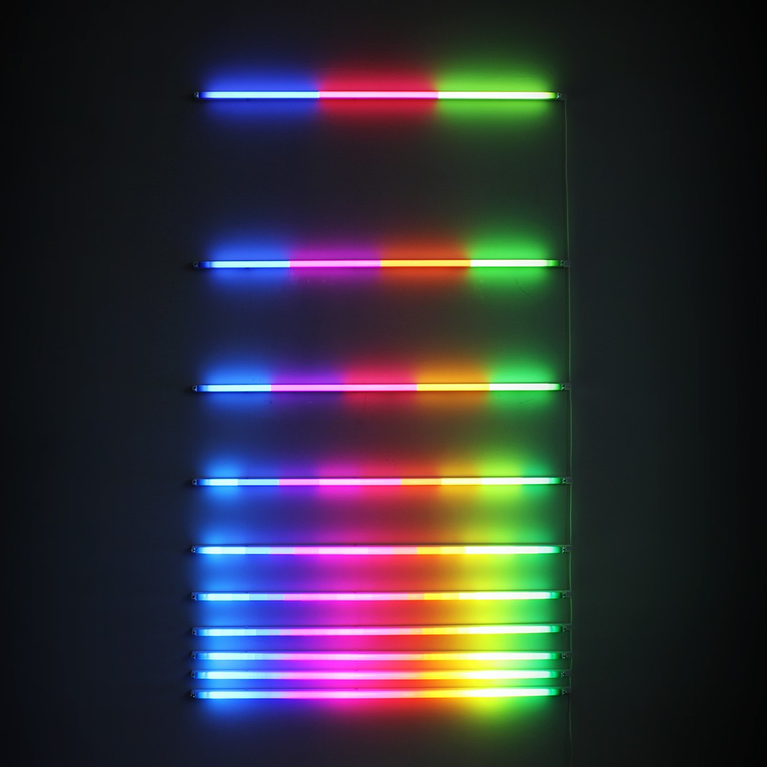 Colorful Light Sculptures by James Clar Interpret Technology's Effects on Our Perceived Reality