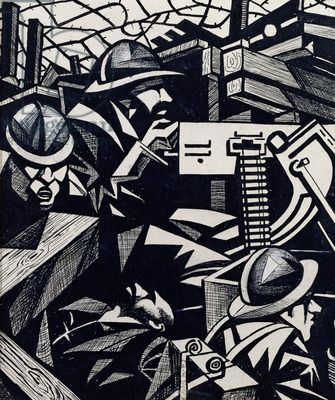 Sotheby's Expect First World War Painting By Nevinson To Make £1m