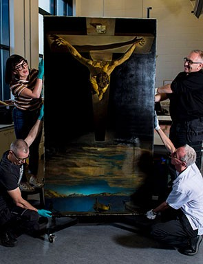 The Royal Academy of Arts in London Will Borrow 'Christ of St. John of the Cross' by Salvador Dalí
