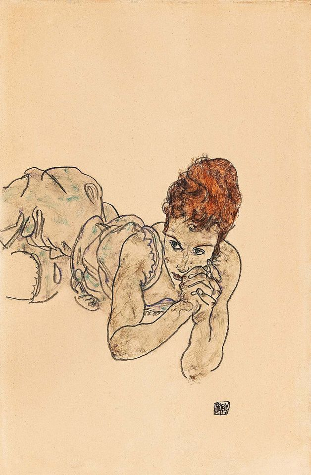 Egon's Schiele Art Will Exhibit At First For 85 years