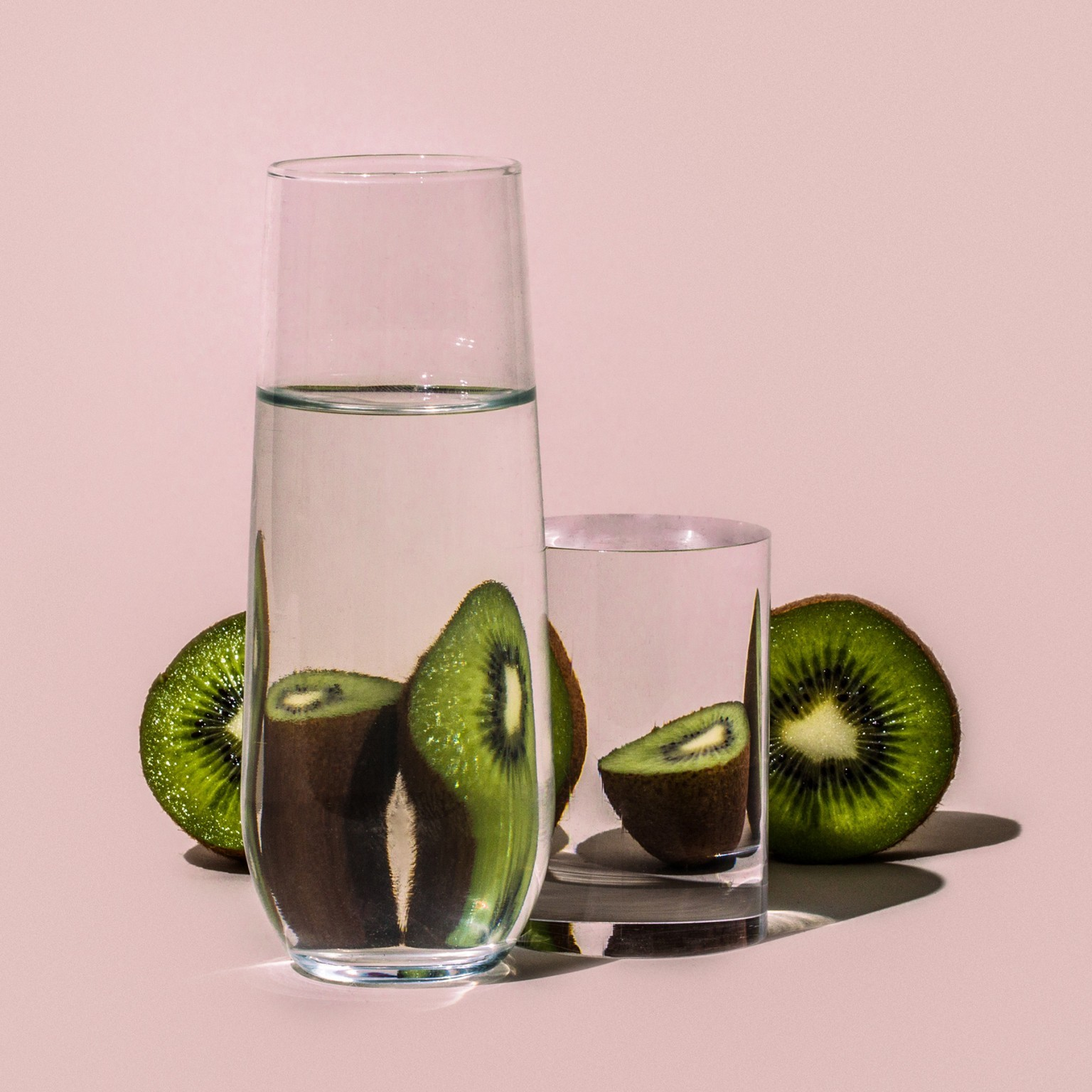 Foods Distorted Through Liquid and Glass in Photographs by Suzanne Saroff
