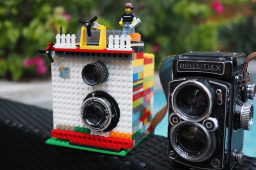 Amazing Clever Instant Camera Created with LEGO