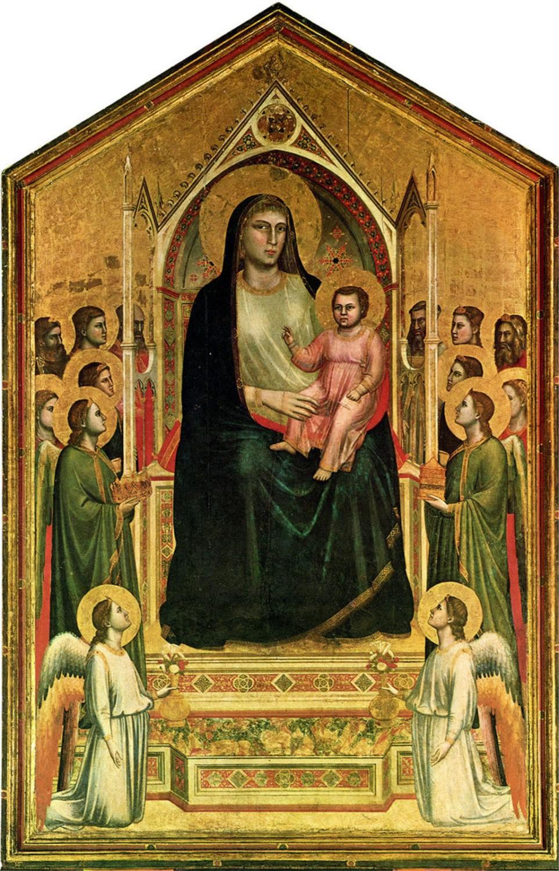 Giotto di Bondone 'Ognissanti Madonna' ('Madonna in Maestà')
