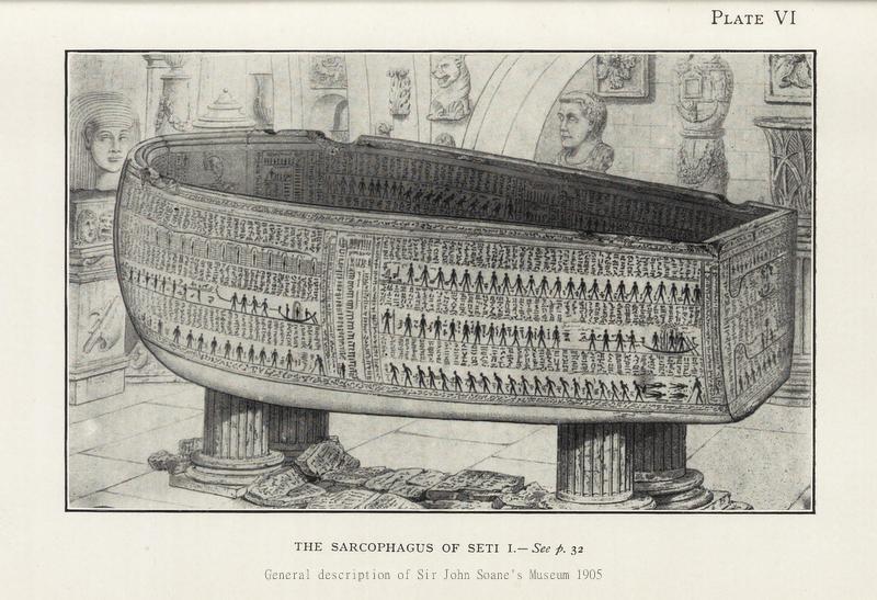 Sir John Soane's Museum Recreates Architect's Vision Of Pharaoh's Tomb