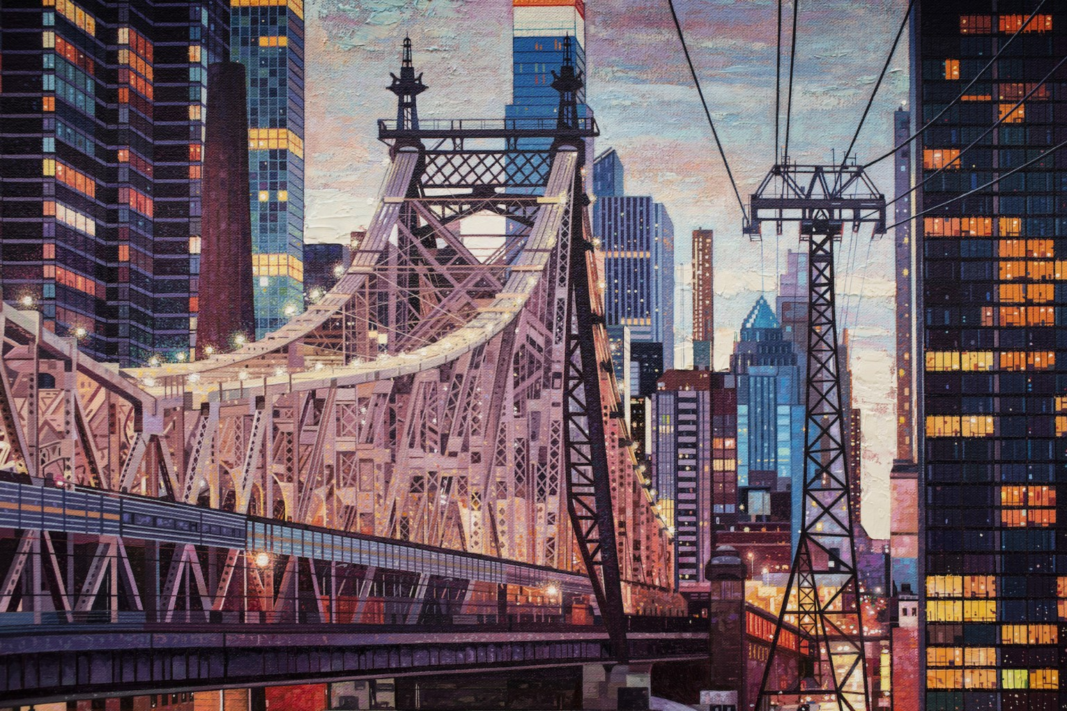 Multiple Perspectives Form Elaborately Detailed Cityscapes by Nathan Walsh