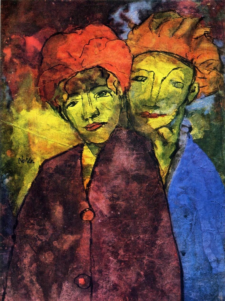 Emil Nolde. Art of mysticism and expressionism