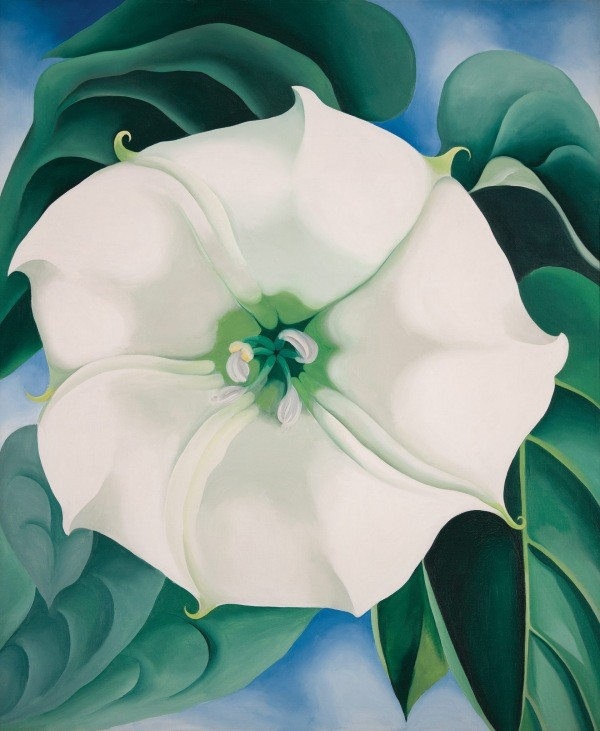 """American Anthem"" Of Our Art, Georgia O'Keeffe"