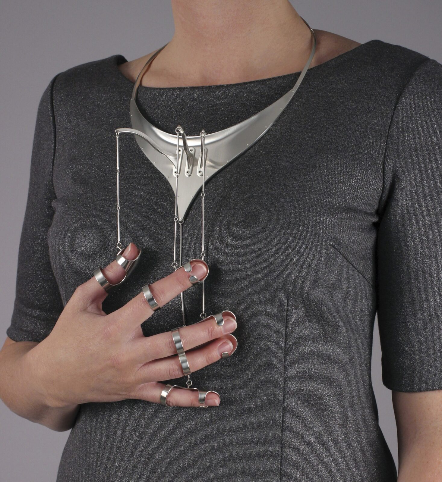 Jennifer Crupi's Unconventional Jewelry Highlights Gesture As Ornament
