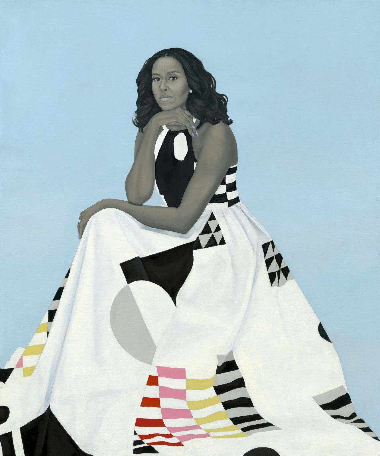 Official Portraits of Barack and Michelle Obama by Kehinde Wiley and Amy Sherald