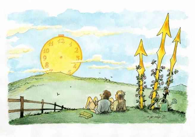 China held an international cartoon competition on coronavirus