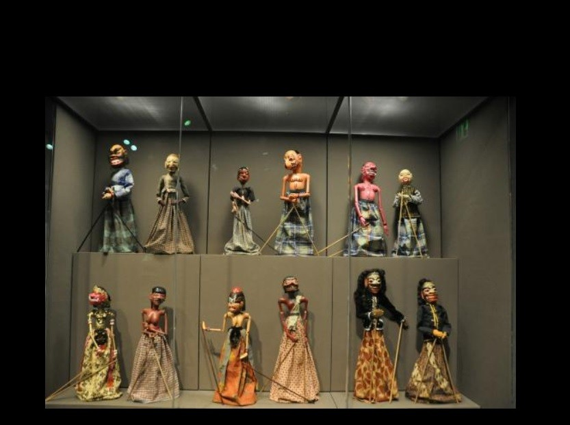 Rod puppets, Indonesia