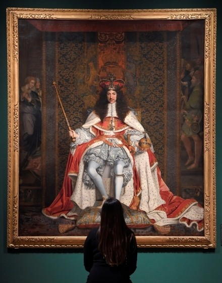 Collection Of Works By The King Charles II: Art & Power