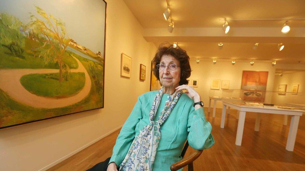 Jane Freilicher a Lyrical Painter In Paul Kasmin Gallery