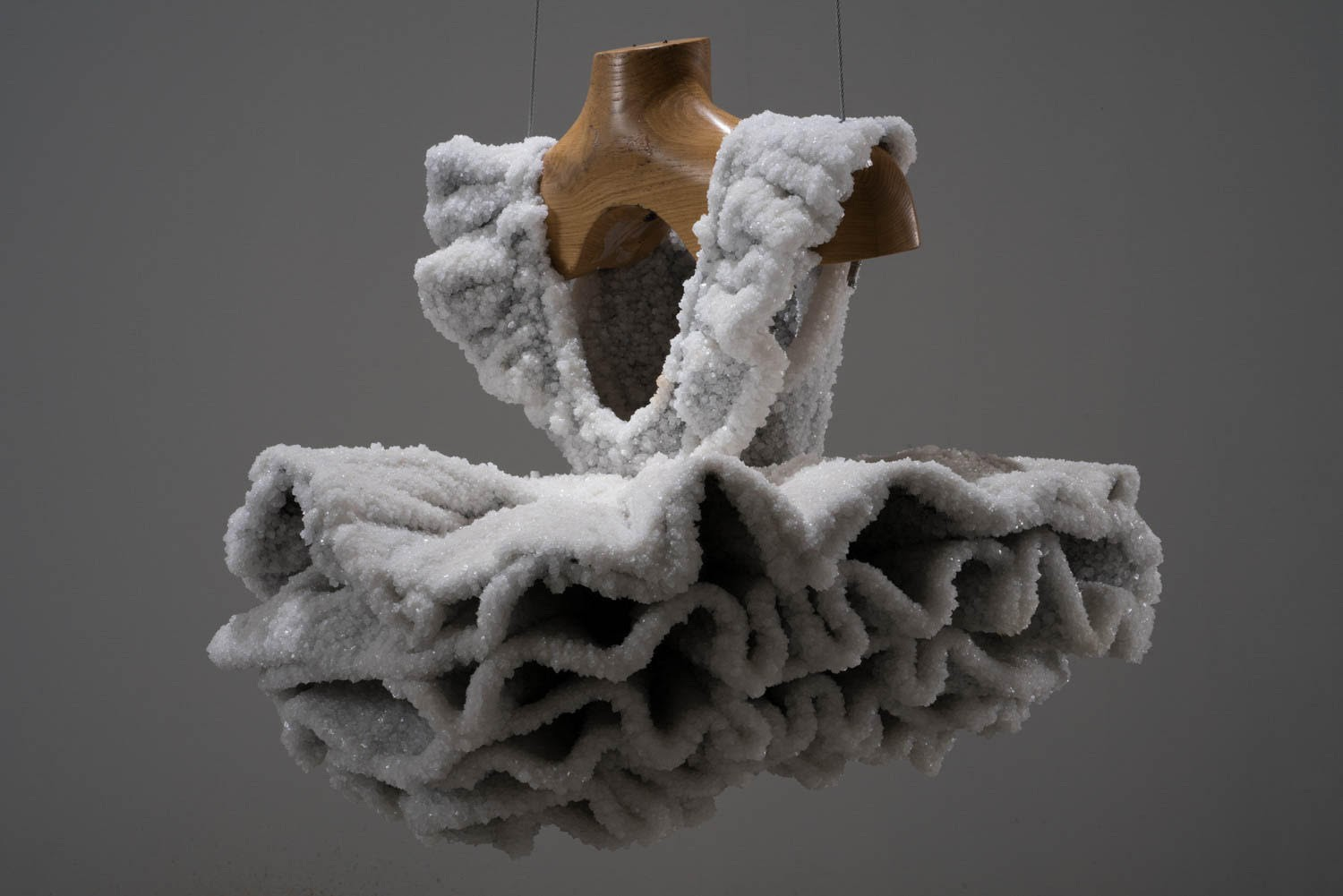 Tightly Salted Sculptures by Sigalit Landau