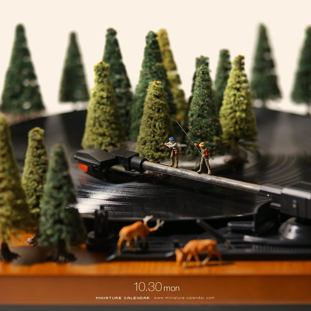 Tatsuya Tanaka Continues Building Tiny Worlds in his Daily Miniature  Photo Project