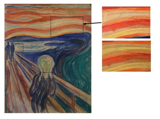 """""""The Scream"""" is fading. A new analysis has pointed to the reason"""