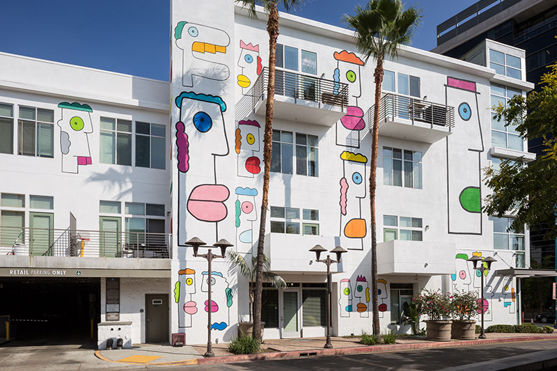 Freedom Boulevard: Mural by Thierry Noir