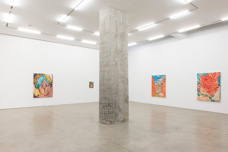 Solo exhibition by Los Angeles-based artist Brian Fahlstrom on view at Marlborough Contemporary