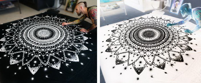 Fantastic Drawings With Salt: Black And White Art