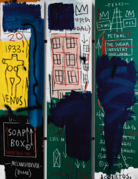 Sotheby's Сollected $ 79.9 M on the Post War and Contemporary Sale Led by Warhol, Basquiat, Warhol-Basquiat Collaboration