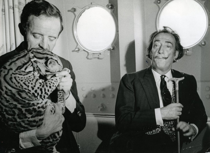 Never-before-seen Photos of Salvador Dali and Picasso