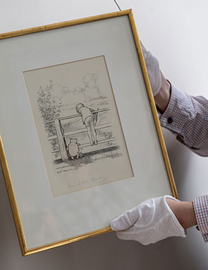 The Original Map of Winnie-the-Pooh's Hundred Acre Wood by E.H. Shepard Comes to Auction
