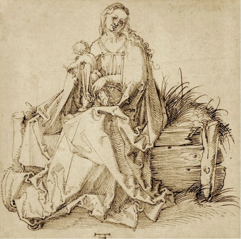 Durer's unknown drawing will be sold by a London dealer, and Van Gogh's painting is making a sensation