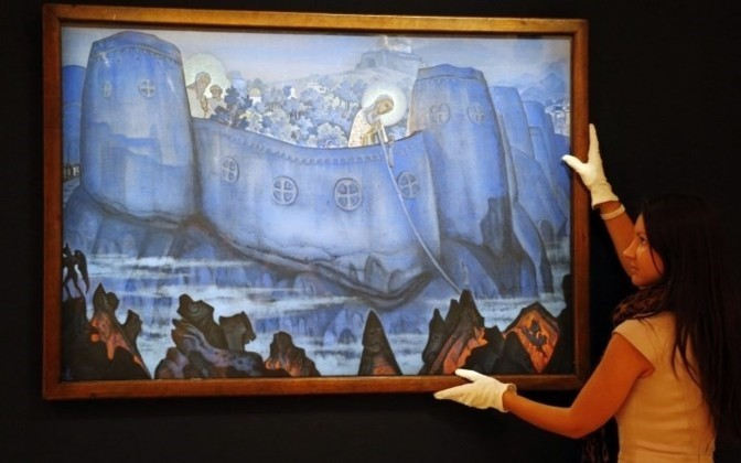 Roerich's painting will be sold to pay off debts