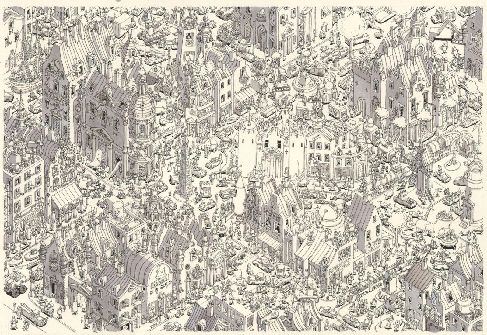 Wonders of Detailing: Art By Matthias Adolfsson